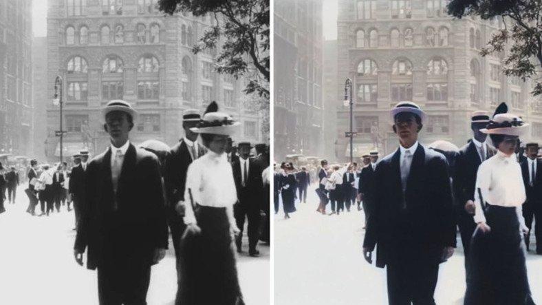 109 Yıllık Kısa Film, Yapay Zeka ile 4K Oldu (Video)